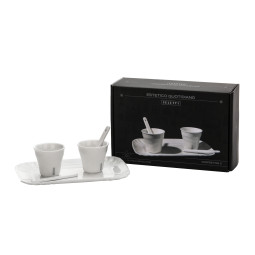 Seletti Estetico Quotidiano koffie set van 2 porselein