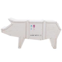 Seletti Sending Pig opbergkast wit