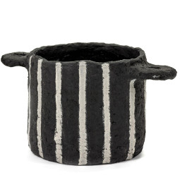Serax Earth stripes pot