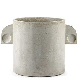 Serax Pot Art deco rond plantenbak small
