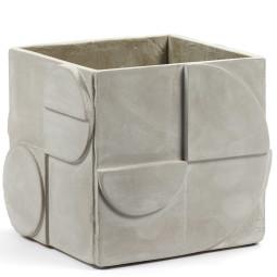 Serax Seventies grey concrete small plantenbak