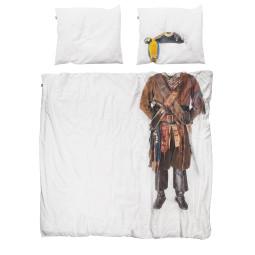 Snurk Piraat dekbedovertrek 200x230 - let op: afwijkende maat