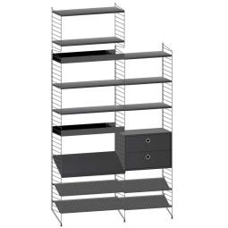 String Furniture Gangkast configuratie 1
