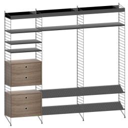 String Furniture Gangkast configuratie 6