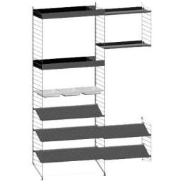 String Furniture Gangkast configuratie 7