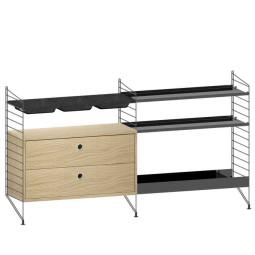 String Furniture Gangkast configuratie 8