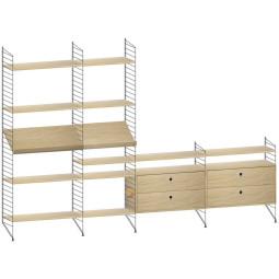 String Furniture Woonkamer configuratie 4