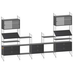 String Furniture Woonkamer configuratie 7