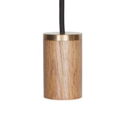 Tala LED E27 hanglamp eiken