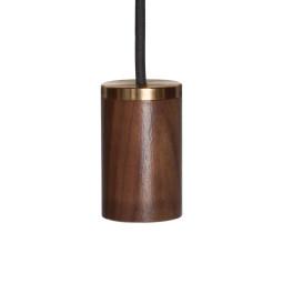 Tala LED E27 hanglamp walnoot