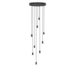 Tala LED Nine hanglamp zwart grafiet