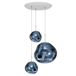 Tom Dixon Melt Trio Round hanglamp LED smoke