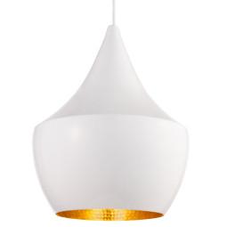 Tom Dixon Tweedekansje - Beat Light Fat hanglamp lampenkap wit