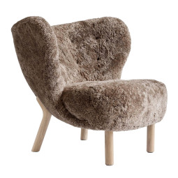 &tradition Little Petra fauteuil eiken onderstel