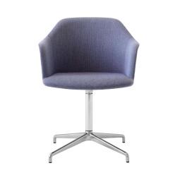 &tradition Rely HW40 stoel aluminium onderstel Re-Wool 658