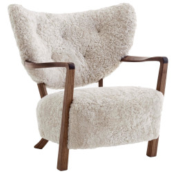 &tradition Wulff fauteuil walnoot