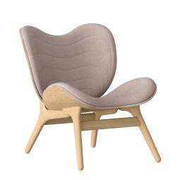 Umage A Conversation Piece Low fauteuil naturel eiken