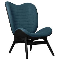 Umage A Conversation Piece tall fauteuil zwart eiken