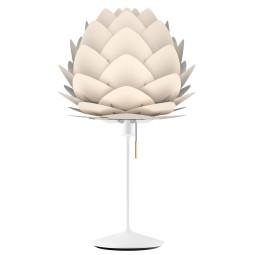 Umage Aluvia Mini tafellamp wit onderstel