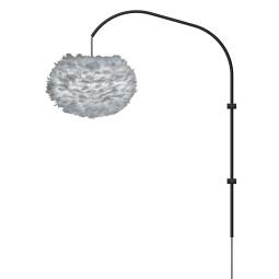 Umage Eos Medium Single wandlamp zwart armatuur