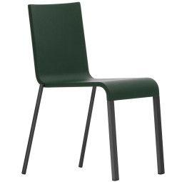 Vitra .03 stoel met poedercoating onderstel zwart stapelbaar