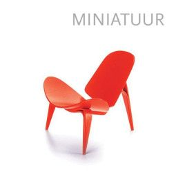 Vitra 3-benet Skalstol miniatuur