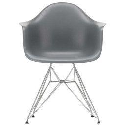 Vitra Eames DAR stoel verchroomd onderstel