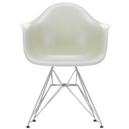 Vitra Eames DAR Fiberglass stoel chroom onderstel