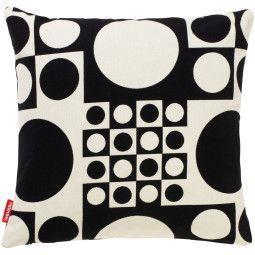 Vitra Geometri black/white kussen 43x43
