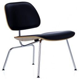 Vitra Eames LCM leather loungestoel