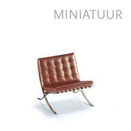 Vitra MR 90 Barcelona miniatuur