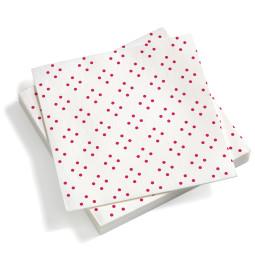 Vitra Paper Napkins Quadrispot servet large donkerroze