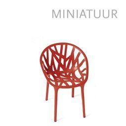 Vitra Vegetal miniatuur rood set van 3