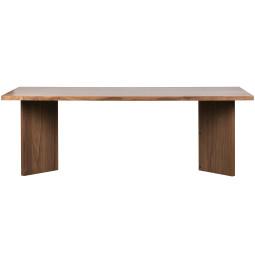 vtwonen Tweedekansje - Angle eettafel 220x75 notenhout