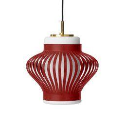 Warm Nordic Opal Lamella hanglamp