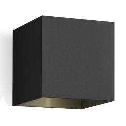 Wever Ducré Box 1.0 wandlamp LED 2700K dimbaar zwart