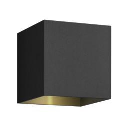 Wever Ducré Box 1.0 wandlamp LED 2700K dimbaar IP65 zwart