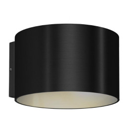 Wever Ducré Ray 1.0 wandlamp 2700K dimbaar IP65 zwart