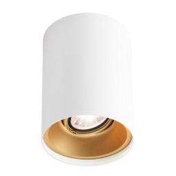 Wever Ducré Solid 1.0 plafondlamp LED 2700K dimbaar wit/goud