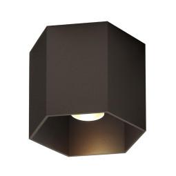 Wever Ducré Hexo 1.0 Plafondlamp GU10 brons