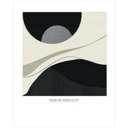 WOOOD Exclusive Complex simplicity poster wanddecoratie