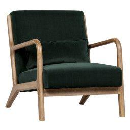 WOOOD Exclusive Tweedekansje - Mark fauteuil flesgroen