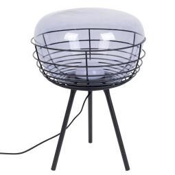 Zuiver Smokey Black tafellamp