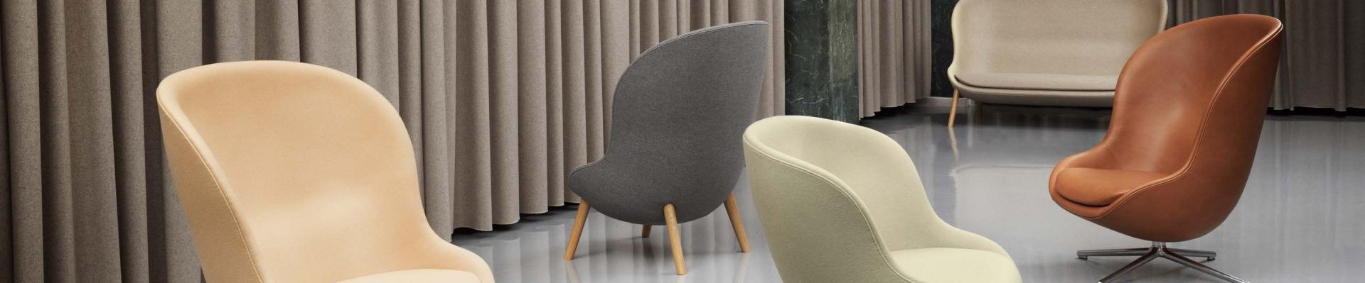 Normann Copenhagen fauteuils