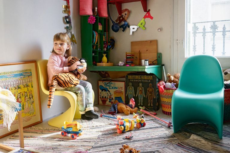 De ideale zithoogte voor de kinderstoel